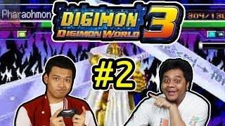 Lawan Master Tyrannomon! - Digimon World 3 (2)