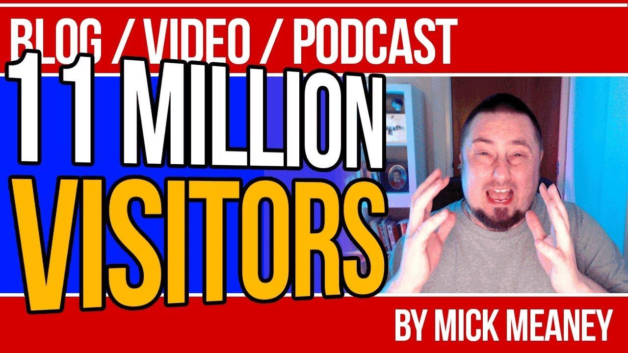 11 Million Visitors - Free Traffic Source: Pinterest Alternative