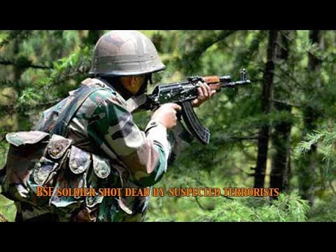 BSF soldier shot dead by suspected terrorists, family members injured: NewsPointTV