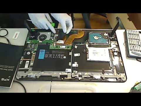 Inside look Dell XPS 18   in Portable All-in-One Tablet hard drive replacement memory ram upgrade