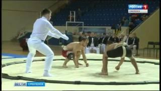 Смоленске впервые принимает чемпионат России по любительскому сумо