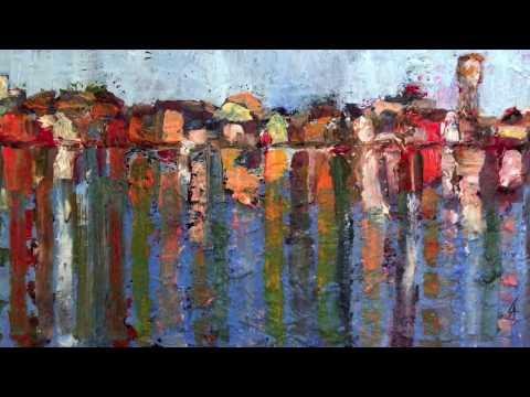 quadri ad olio loffreda amos linee e colori youtube
