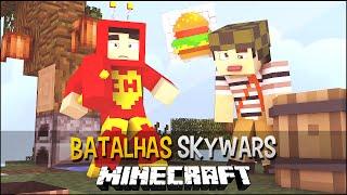 Minecraft Chapolin colorado vs Chaves Batalhas SkyWars