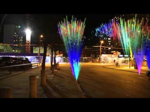 City Fireworks VFX