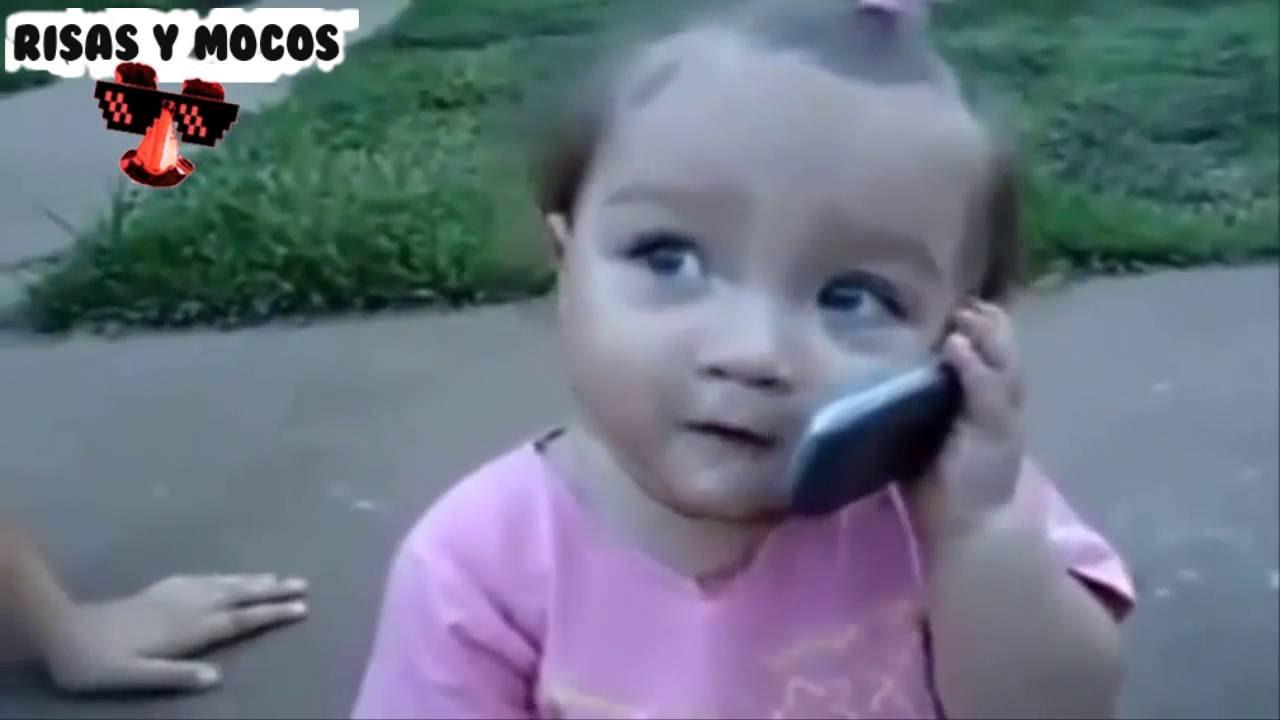 Bebe Hablando Por Telefono: Videos De Bebes Tiernos Hablando Por Telefono