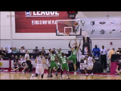 Boston Celtics vs Dallas Mavericks   July 12, 2016   NBA Las Vegas Summer League 2016