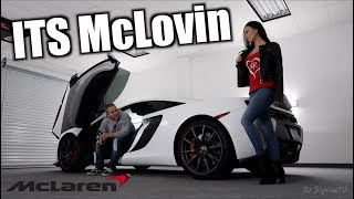 First Ride in a McLaren My Reaction Mclovin - HE THINKS ITS A P1