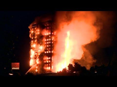 Már 17-re nőtt a londoni tűzvész halálos áldozatainak a száma
