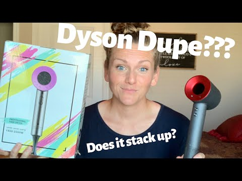 Dyson Dupe Hair Dryer First Impression