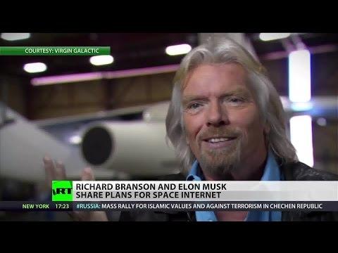 Dueling billionaires announce plans for satellite-based worldwide internet