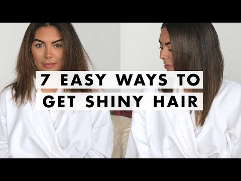7 Ways to Get Shiny Hair | Luxy Hair