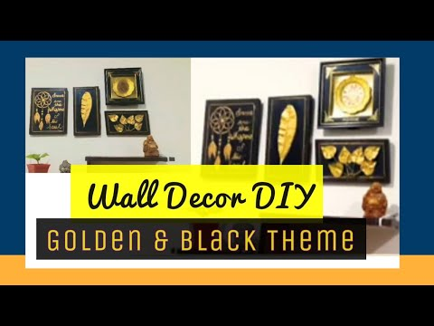 Vlog1.//DIY Wall Decoration idea//Reuse wooden plank//
