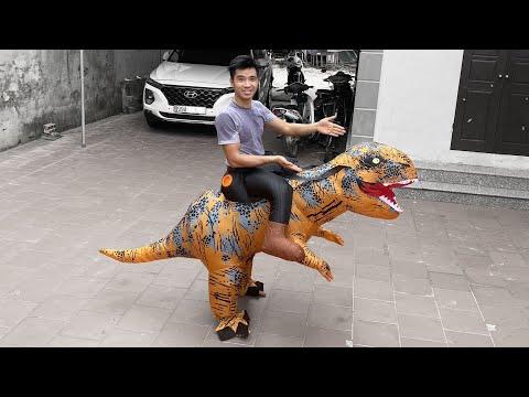 PHD   Cưỡi Khủng Long   Riding a Tyrannosaurus