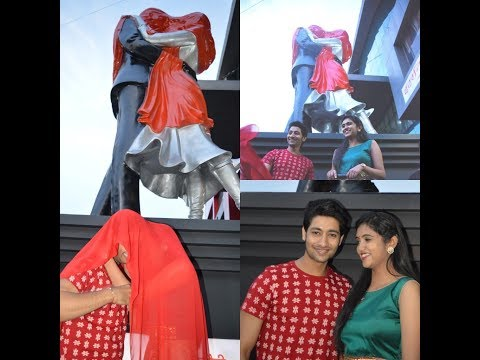 Sairat Couple Rinku Rajguru And Akash Thosar Unveiled 'Sculpture Of Love' In Nagpur