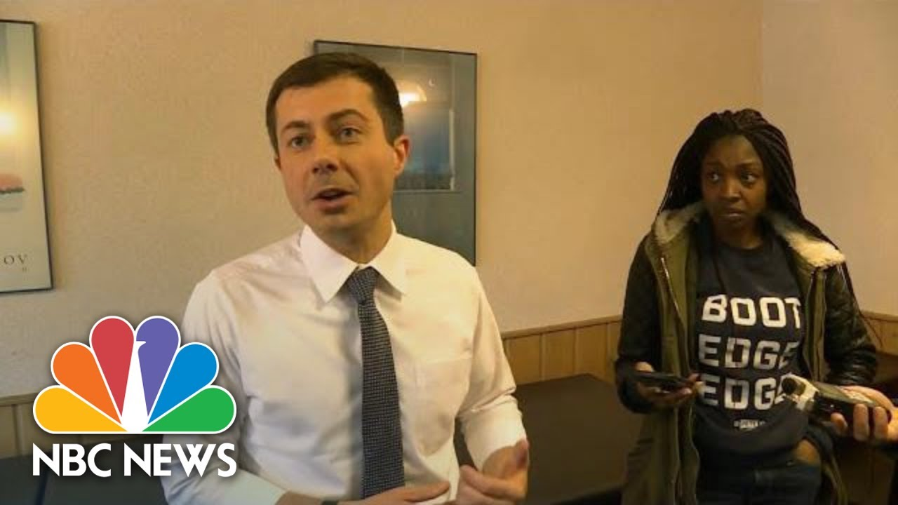 Pete Buttigieg Responds After Resurfacing Of 2011 Comment On Minorities And Education   NBC News