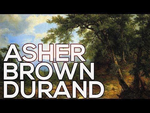 Asher Brown Durand: A collection of 137 paintings (HD)