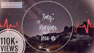 Kangana Tera Ni | Unplugged Acoustic Version | Full Audio Song | Chaar din ki Chandani