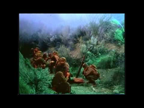 War of the Worlds (1953) - main battle scene in English (in full)
