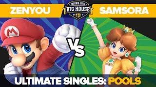 Zenyou vs Samsora - Pools Winners' Semifinals: Ultimate Singles - TBH9 | Mario vs Daisy
