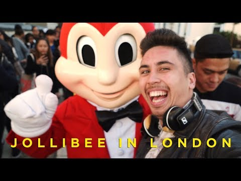 Filipino Fast Food in London (Jollibee UK Opening)
