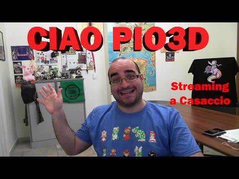 Pio3d e l'intrattenimento su Internet! Streaming with Rigor.