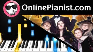The Addams Family Theme - Piano Tutorial & Sheet Easy - How to Play