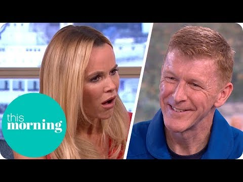 Tim Peake Explains How to Go to the Toilet in Space! | This Morning