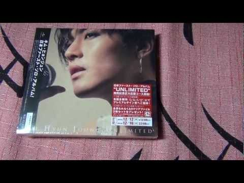 Kim Hyun Joong (김현중) 1st Japanese Album - UNLIMITED Unboxing & Review