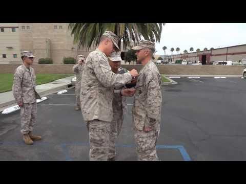 Lt Scott Brown's Purple Heart Ceremony, 8/1/13