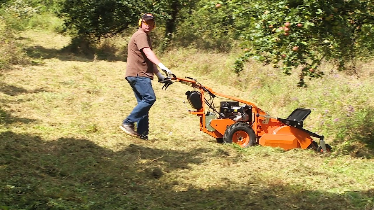 The flail mower for professionals - AS 901 SM