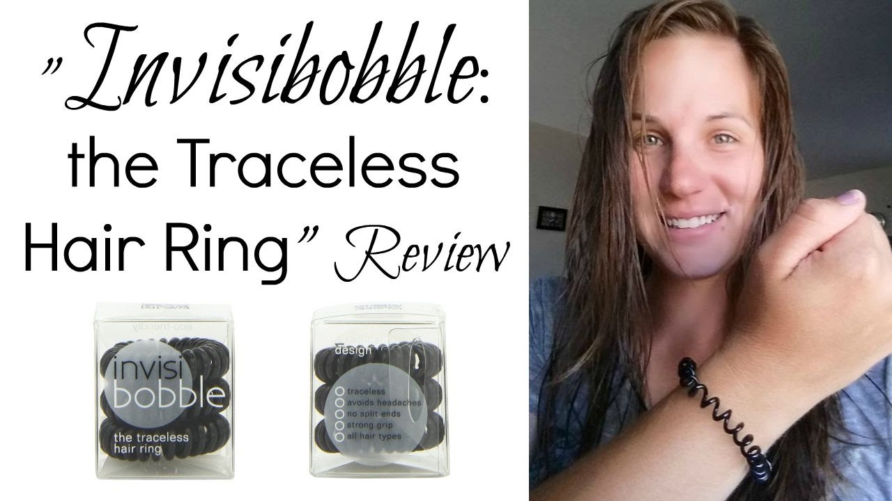 Invisibobble Traceless Hair Ring Review - YouTube 365901d1a25