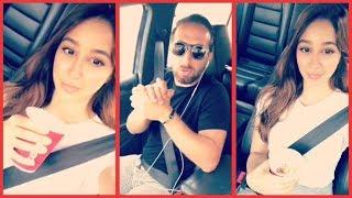 بالفيديو: الفنانة السعودية أسيل عمران تتحدى صديقها في قيادة السيارة !
