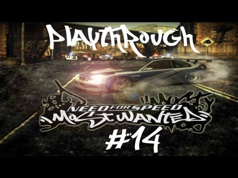 Need for Speed Most Wanted (2005) Black Edition Playthrough Eps.14 - Cops like the color red.