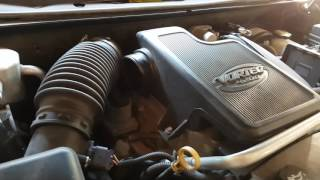 Chevy Trailblazer - Cleaning The Throttle Body