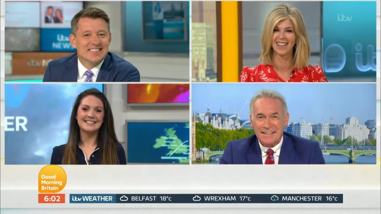 GMB 13th July 2020 (6H) - Kate's return !