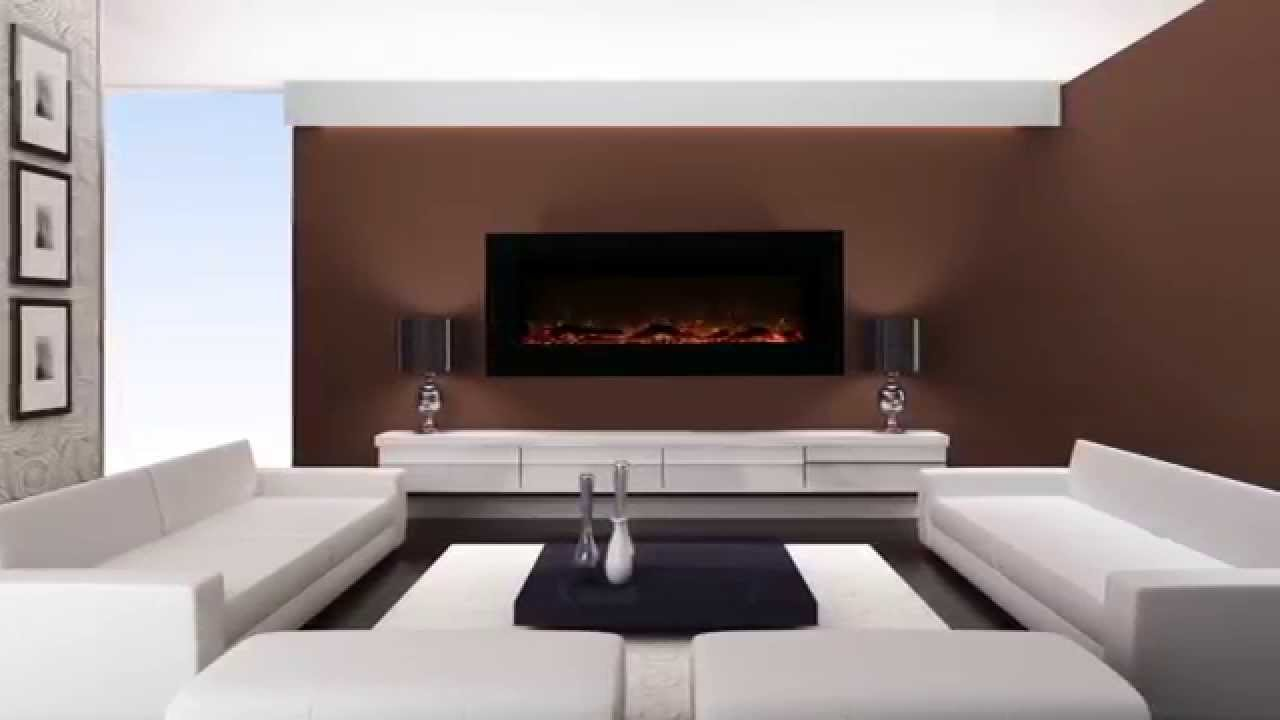 Warm House Electric Fireplaces - Valencia VWWF-10306 - YouTube
