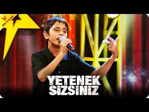 Depresyon Stayla Vedat'tan Arabesk Rap | Yetenek Sizsiniz Türkiye