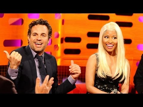 MARK RUFFALO: Smoking Pot Onstage! (The Graham Norton Show)