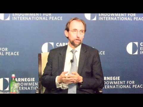 A Conversation With UN High Commissioner for Human Rights Zeid Ra'ad Al Hussein