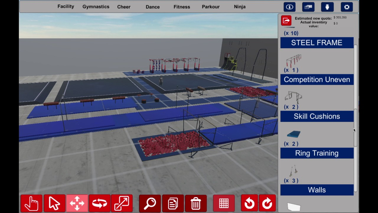 3d gym design 7 features you will love about this for Gym design software