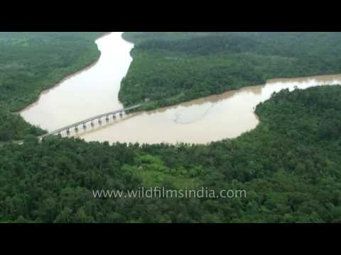 Andaman aerials: flying over India