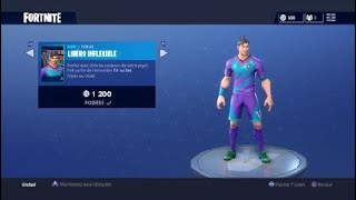 I buy the skin of the World Cup 'pioche' and dance !!! [FORTNITE]