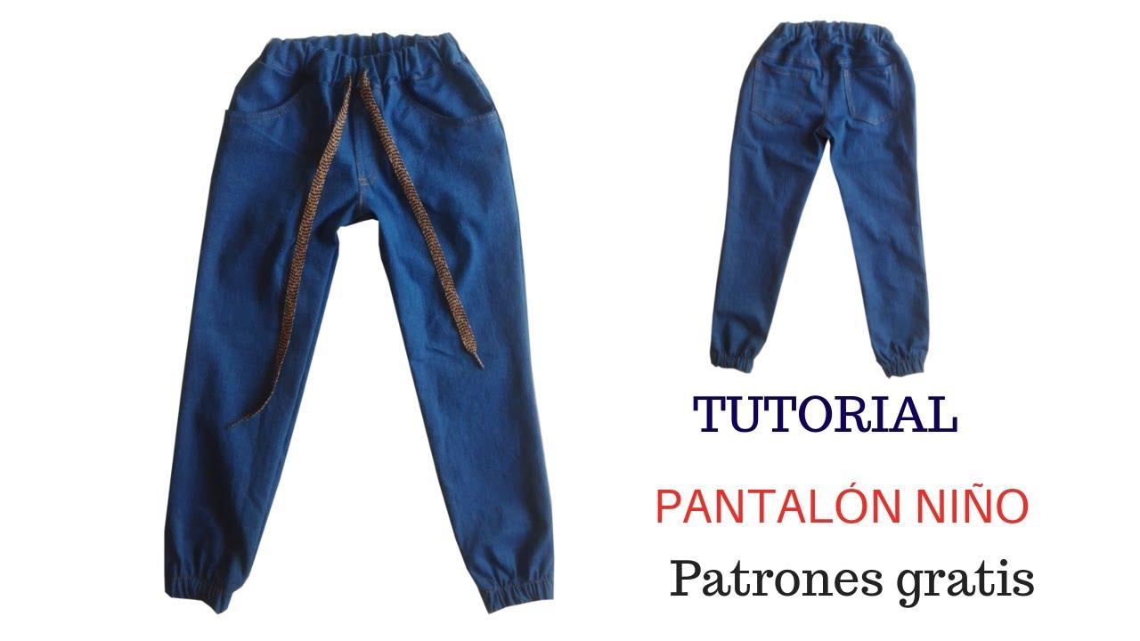 Diy Cómo Hacer Un Pantalón Niño Corte Y Confección