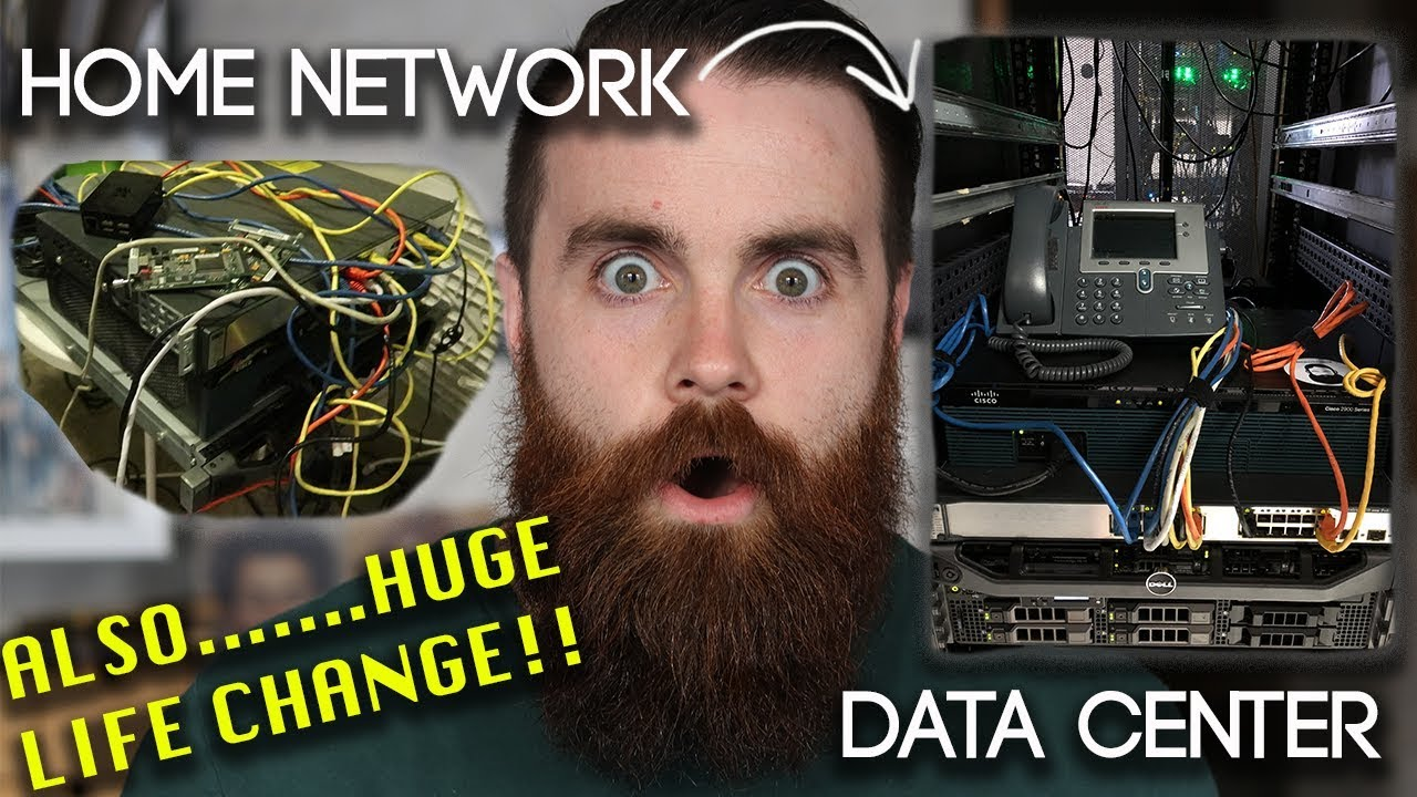 Moving my HOME NETWORK to a DATA CENTER w/ DMVPN - CCNA | CCNP