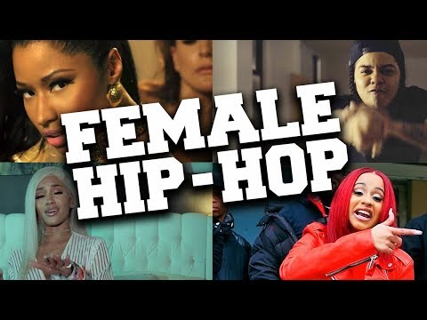 Top 50 Most Popular Female Hip-Hop Songs Mp3