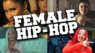 Top 50 Most Popular Female Hip-Hop Songs