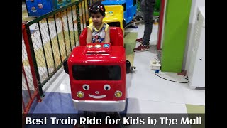 Toy Train - Trains For Kids - Trains For Toddlers - Train Ride For Kids in the Mall