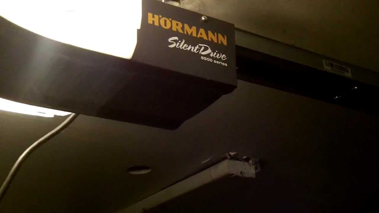 Hormann 5500 Garage Door Opener Silent Drive Opener Review Youtube