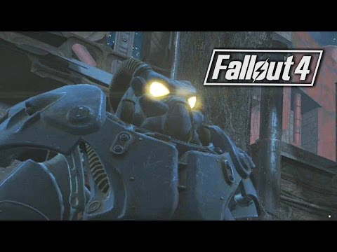 Fallout 4 :Custom House Tower and Getting The X-01 Power Armor