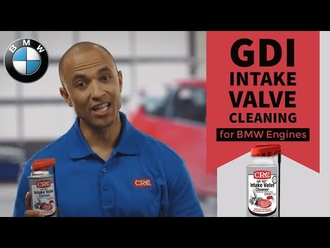 Intake Valve Cleaning BMW CRC GDI IVD Intake Valve & Turbo Cleaner